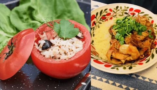 トマトをメインにさっぱり簡単キャンプ飯を紹介!