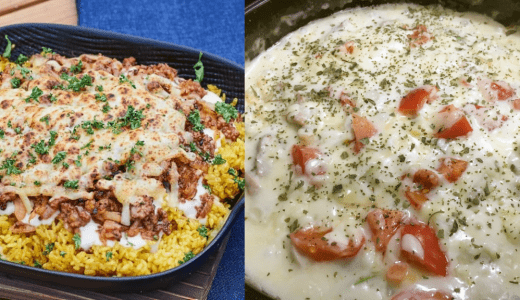 キャンプ飯・スキレットやダッチオーブンでドリア簡単レシピを紹介